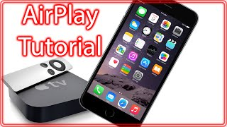 AirPlay iPhone 6, 6 Plus, iPad, iPod Touch running iOS 9, iOS 8 or iOS 7