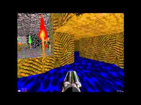 Doom 2 Walkthrough Level 17 - Tenements