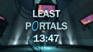 Portal Done with 15 Portals in 13:47 - Least Portals