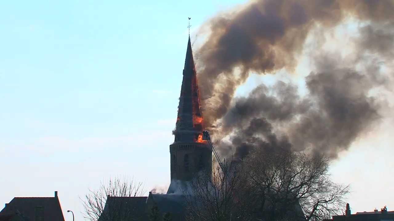 Brand sint niklaaskerk westkapelle webcam