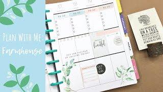 Plan With Me | Farmhouse