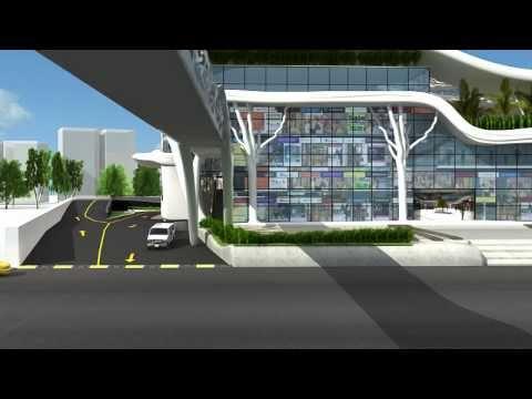 Vadodara S Mordenize Bus Teminal Develop By Sphere Cube