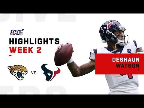 Deshaun Watson Highlights vs. Jaguars   NFL 2019