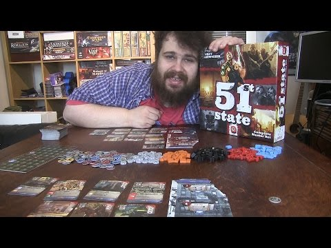 51st State Master Set Review - Mad Max Got Nothing on This