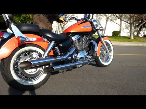 1999 Honda Vt1100 Shadow American Classic Edition Youtube