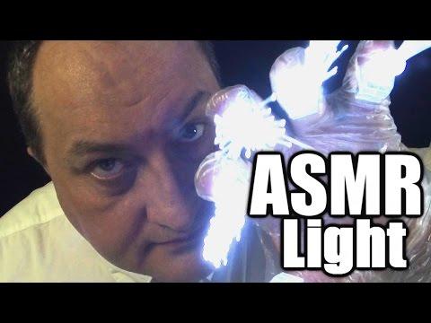 ASMR Fiber Optic Lights No Talking