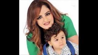 باسكال مشعلاني تعيش الامومة مع ابنها ليلّلو 2013