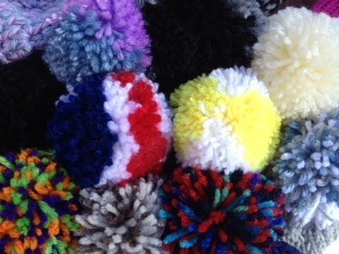 23b7b328f7a How to Make a Pom Pom Different! - YouTube