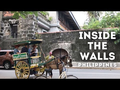 Inside the Walls of Manila   Rizal Park and Intramuros   PHILIPPINES TOURIST SPOTS