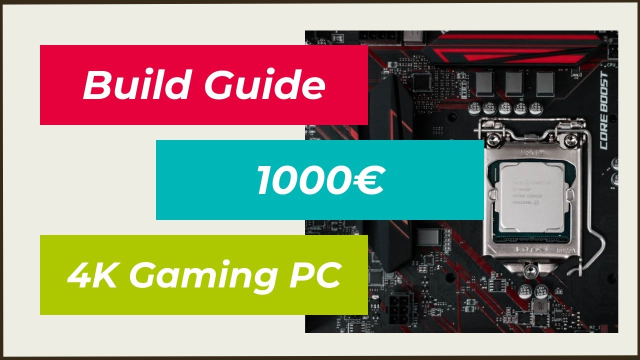 oktober 2016 build guide 4k gaming pc f r 1000 selber zusammenstellen bauen youtube. Black Bedroom Furniture Sets. Home Design Ideas