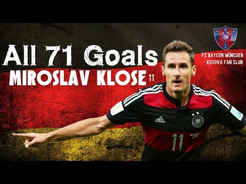 Miroslav Klose,All 71 Goals with Germany