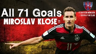 Download Video Miroslav Klose All 71 Goals with Germany MP3 3GP MP4