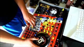DJ Low-D Kontrol S4 HD1080p Tenminmix - D-Block & S-Te-Fan Tribute (HARDSTYLE)