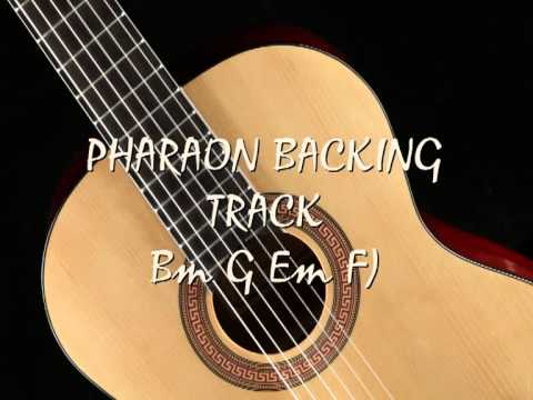 Guitar backing track flamenco pharaon Bm