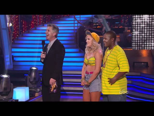 Dancing With The Stars: Kyle and Kacey Freestyle 11/22/2010 HD