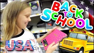 ПОКУПКИ К ШКОЛЕ 2018 📚ШКОЛА В АМЕРИКЕ 💖 ПОДГОТОВКА К ШКОЛЕ В США 🔥 Back to School 🇺🇸