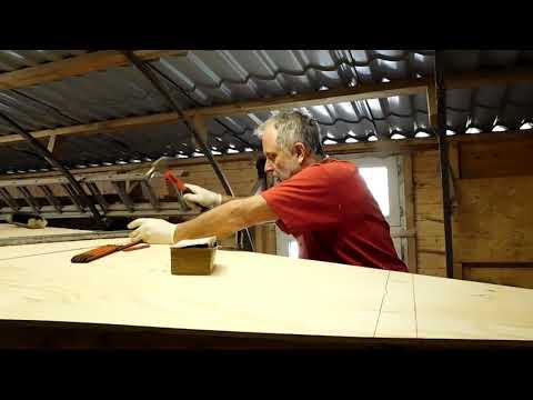 SV Tapatya - Building a cruising sailboat - EP35 - Bottom Planking
