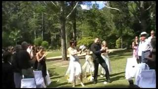 Phil + Elina -Funniest Wedding Dance Entrance -Best Ever! Hilarious