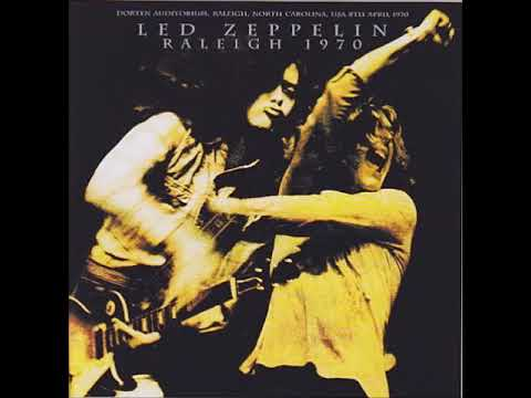 Led Zeppelin - 1970/04/08 Dorten Auditorium, Raleigh