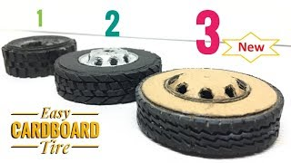 RC Handmade Tires for Remote Control Off-Road Heavy Truck New Update with the fast way