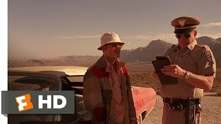 Fear and Loathing in Las Vegas (8/10) Movie CLIP - The Lonely Highway Patrolman (1998) HD