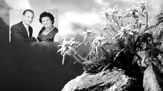 Duo ( Mia en Wim ) de Boer - Das edelweiss ( 1957 )