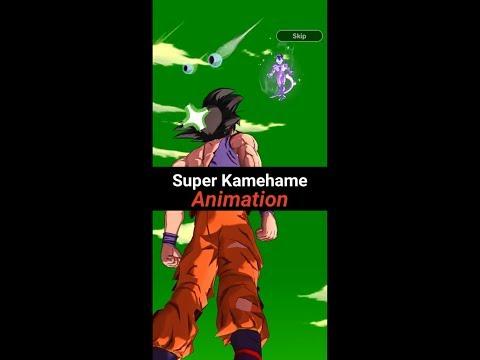 DB Legends - Wow! GOKU Super Kamehame Cool Animation!