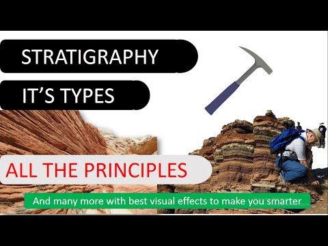 Stratigraphy complete lecture | It's types | All the principles | #JAM #GSI