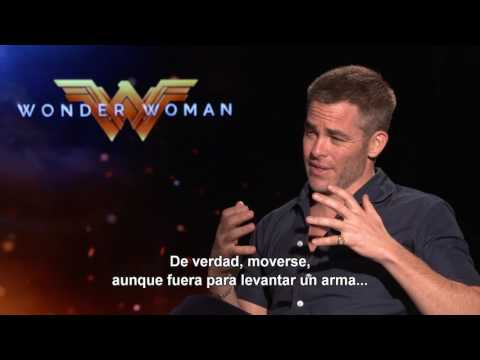 MUJER MARAVILLA - Entrevista Chris Pine - Oficial Warner Bros. Pictures