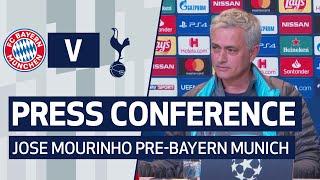 PRESS CONFERENCE | JOSE MOURINHO PREVIEWS BAYERN MUNICH