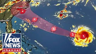 Florence now a category 4 hurricane, evacuations planned thumbnail