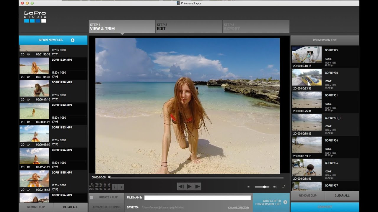 How i edit my gopro movies in gopro studio tutorial youtube ccuart Choice Image