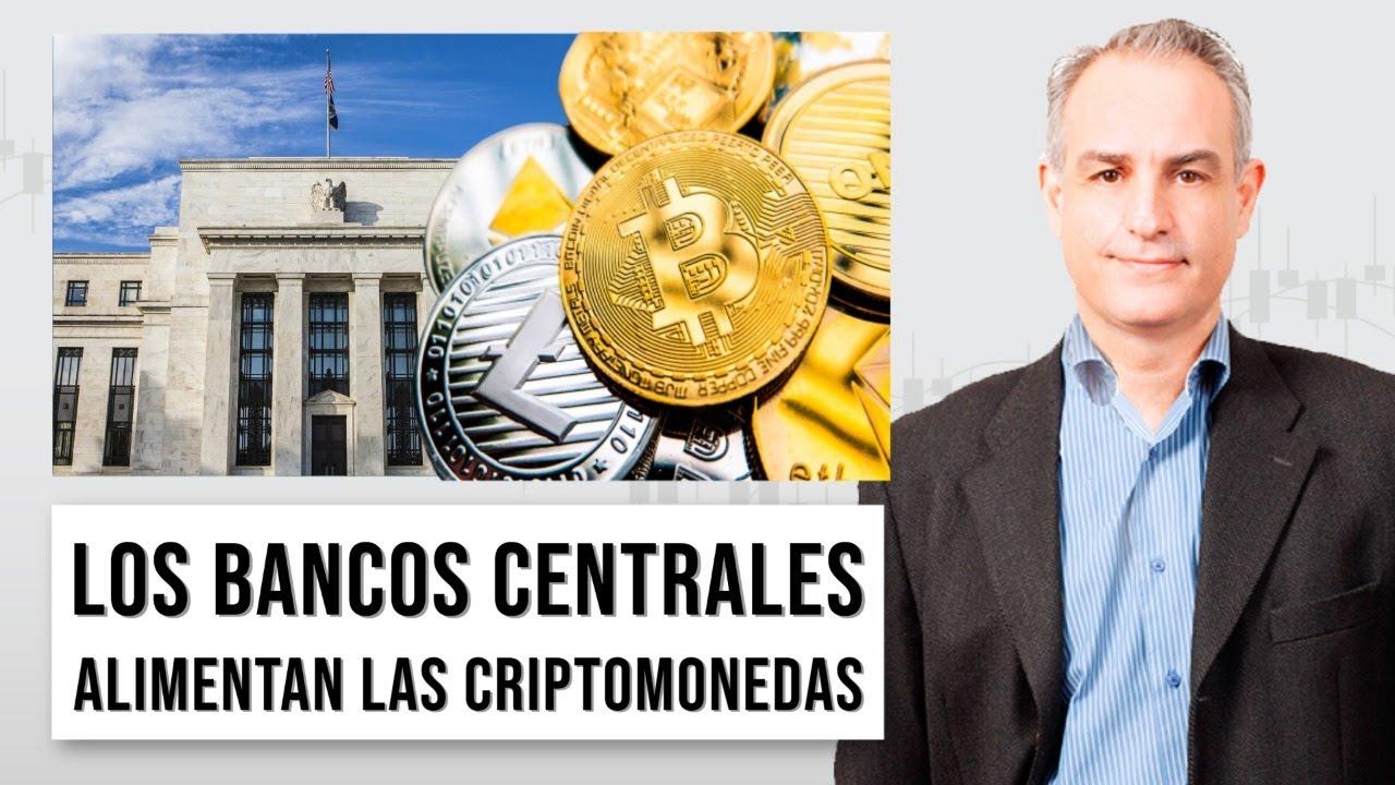 Criptomonedas y bancos centrales