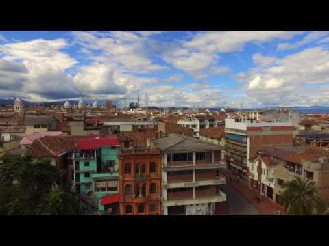 Cuenca Ecuador Drone Flight