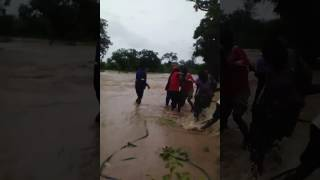 Cyclone Dineo - Rescue operation in Zimbabwe
