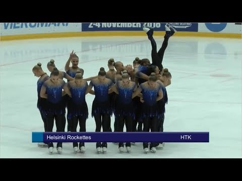 ML1SM 2018 Sr FS Helsinki Rockettes