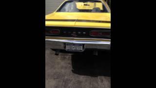 1970 Coronet R/T 440 Cold Start