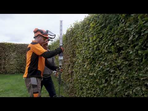 Using A STIHL Long Reach Hedge Trimmer With Chris Hollins   STIHL GB