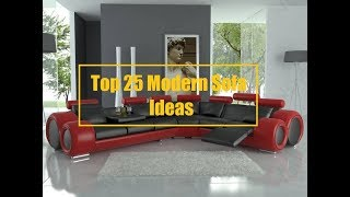 Top 25 Unique Modern Sofa Ideas | Interior Furniture Ideas 2018