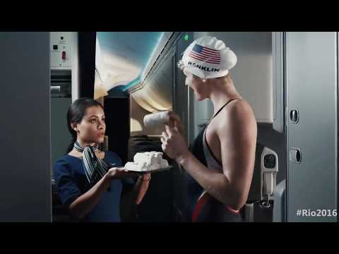 United Airlines TV Commercial   Rio 2016 Olympic Games compared to Scandal 2017