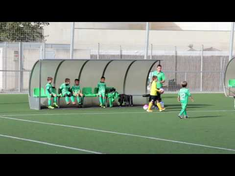 16.11.12 UE Castelldefels Pre Benjamín B vs Fundació UE Cornellà D