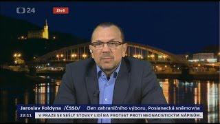 Foldyna: Lidé mají strach z jalové politiky EU. Naše vláda občany chrání