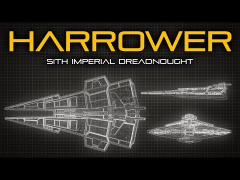 Star Wars: Harrower Class Sith Dreadnought - Ship Breakdown
