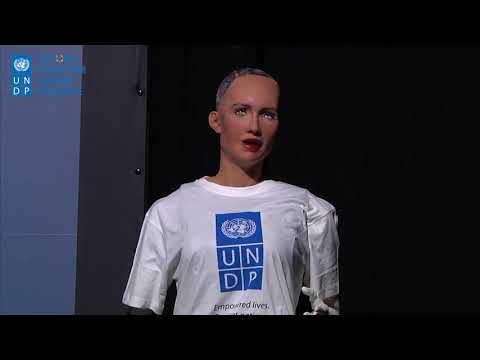 Sophia the Robot is UNDP's Innovation Champion for Asia-Pacific