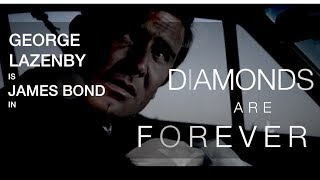 George Lazenby in Diamonds Are Forever Teaser