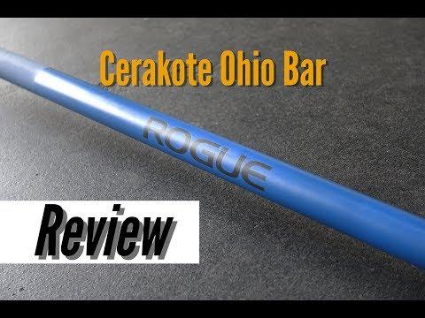 Rogue Fitness Cerakote Ohio Bar Review