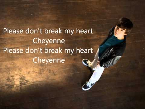 Greyson Chance- Cheyenne Lyric Video.