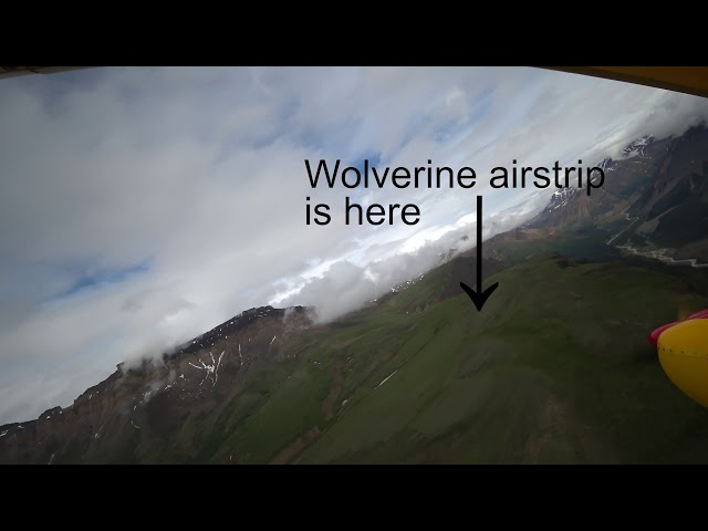 Wolverine airstrip, Alaska