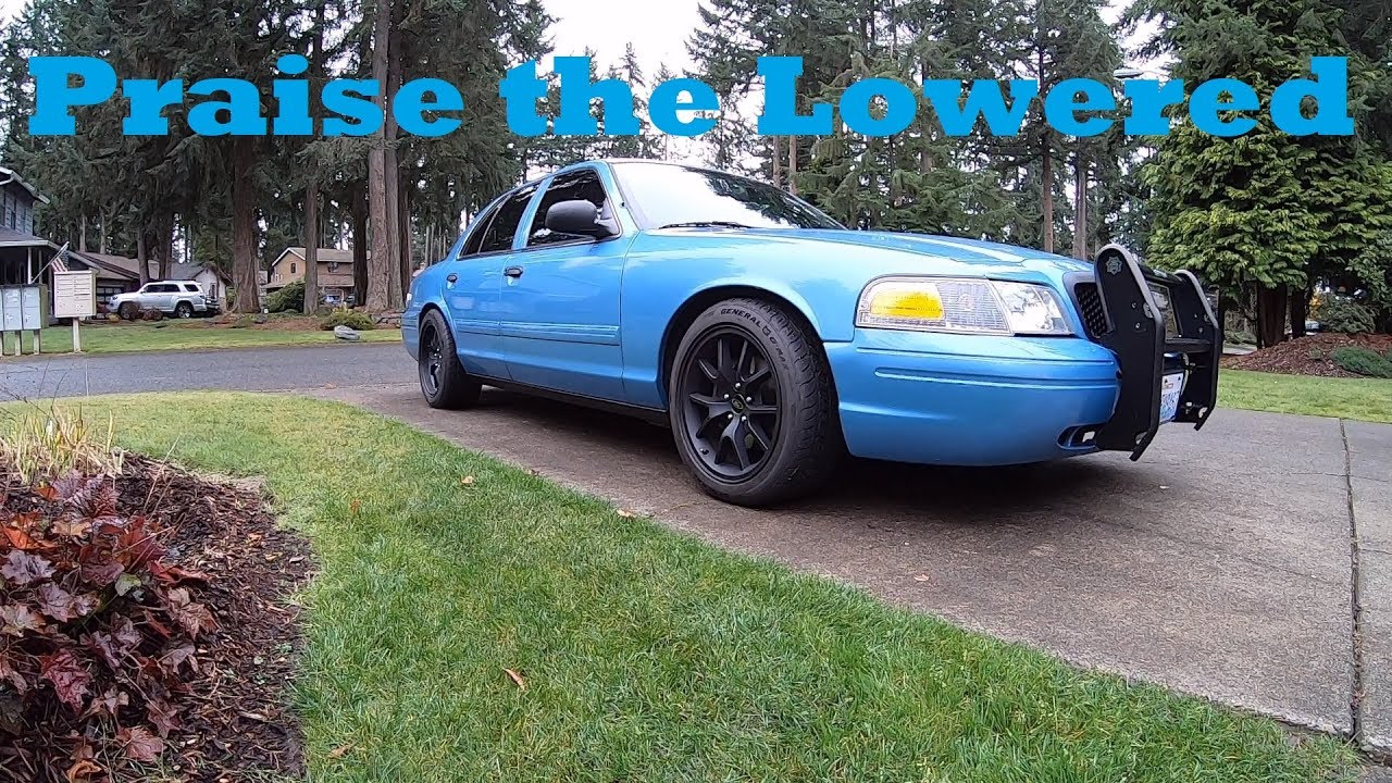 how to lower a crown vic police interceptor replace front struts youtube how to lower a crown vic police interceptor replace front struts