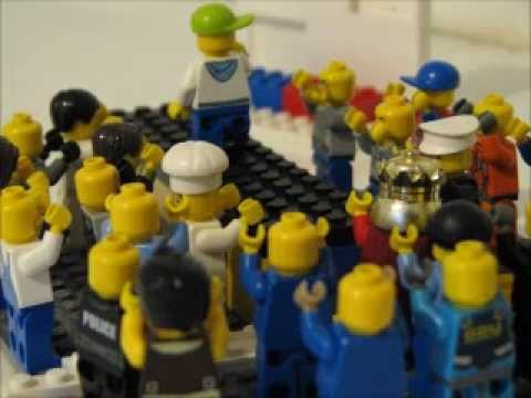 Lego Fashion Show and life at the house store - YouTube